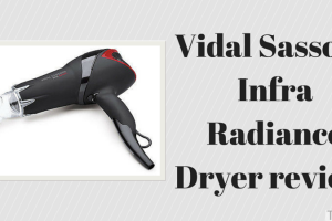 Vidal Sassoon Infra Radiance dryer review TheFuss.co.uk