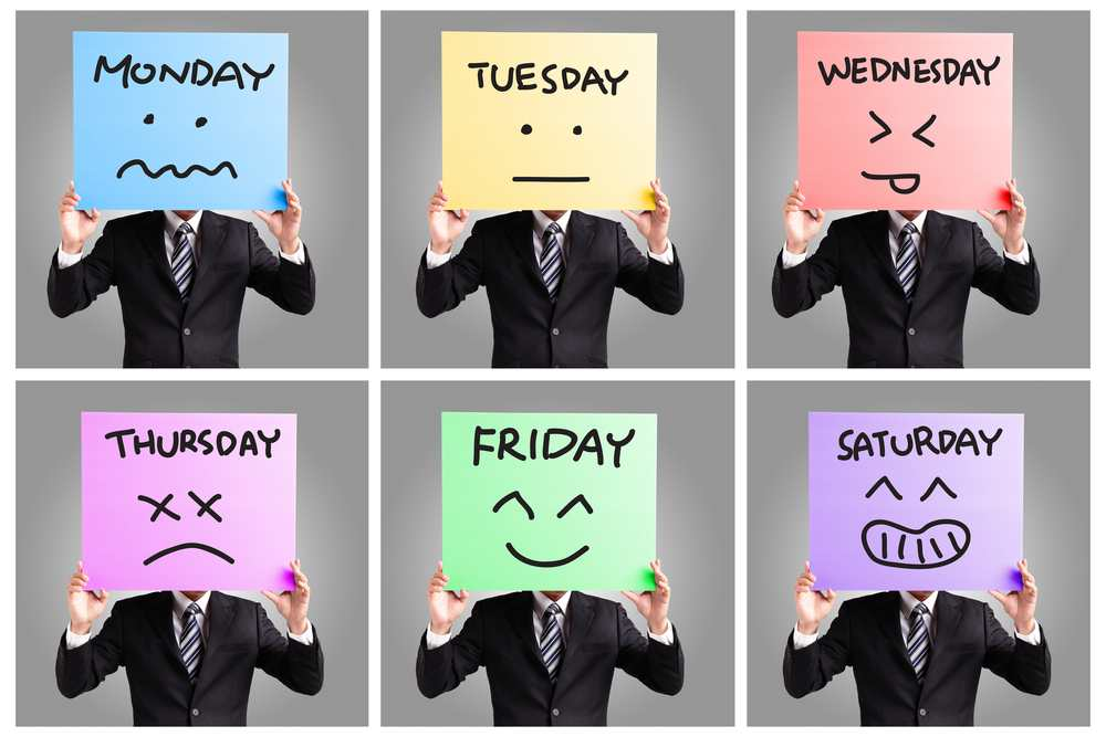 The must-follow guide for a happy work week TheFuss.co.uk