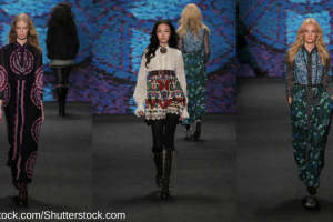The folk dress trend seen at Anna Sui AW15 TheFuss.co.uk