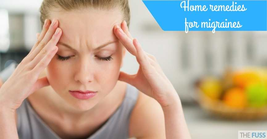 Home remedies for migraines TheFuss.co.uk