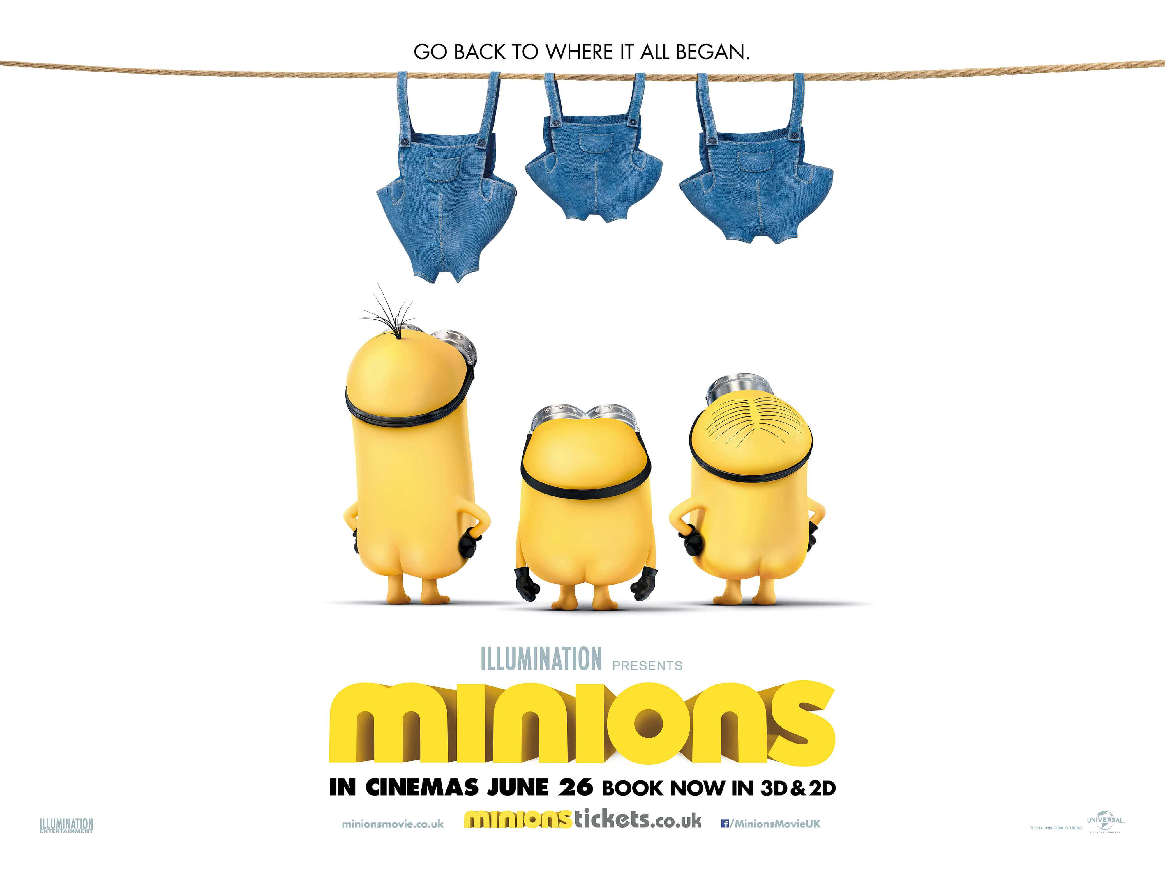 Minions has become the second biggest animation movie of all time TheFuss.co.uk