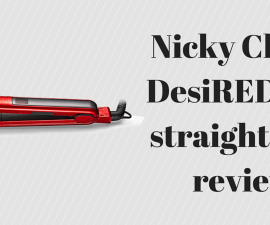 Nicky Clarke DesiRED hair straightener review TheFuss.co.uk