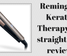 Remington Keratin Therapy Pro straightener review TheFuss.co.uk