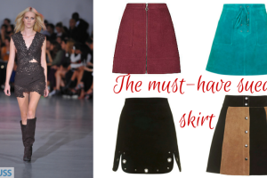 The must have suede skirt TheFuss.co.uk