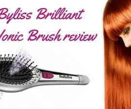 BaByliss Brilliant Shine Ionic Brush review TheFuss.co.uk