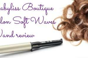 Babyliss Boutique Salon Soft Waves Wand Review TheFuss.co.uk