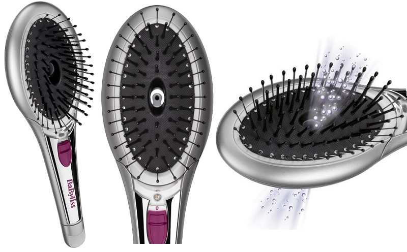 Babyliss Brilliant Shine Ionic hair brush review TheFuss.co.uk