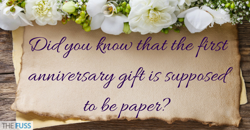 The decline of wedding anniversary traditions the fuss Wedding anniversary yearly traditions gifts