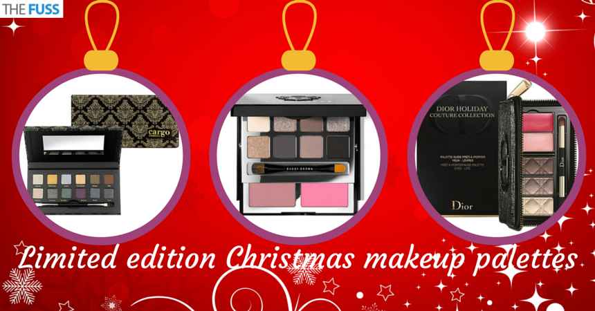 Limited edition Christmas makeup palettes TheFuss.co.uk