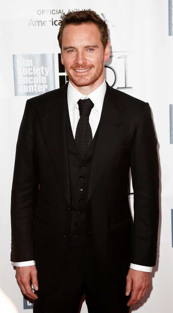 Michael Fassbender made jokes about his Steve Jobs role on the red carpet TheFuss.co.uk