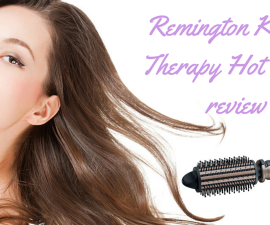 Remington Keratin Therapy Hot Brush review TheFuss.co.uk
