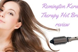 Remington Keratin Therapy Hot Brush review TheFuss.co.uk