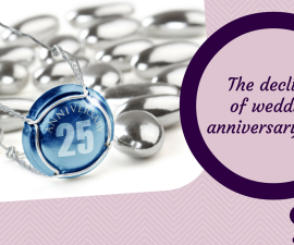 The decline of traditional wedding anniversary gifts TheFuss.co.uk