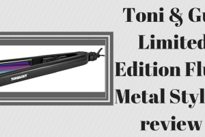 Toni & Guy Limited Edition Fluid Metal Styler review TheFuss.co.uk