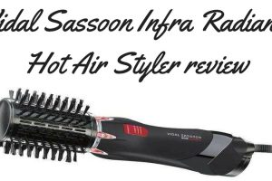 Vidal Sassoon Infra Radiance Hot Air Styler Review TheFuss.co.uk