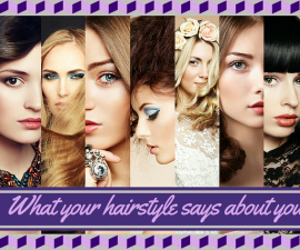 What your hairstyle says about you TheFuss.co.uk