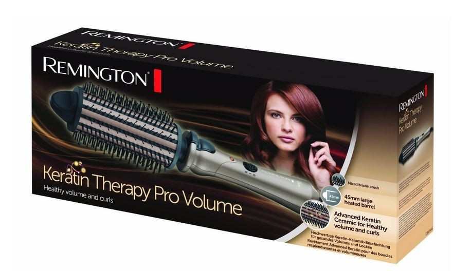 Remington Keratin Therapy Pro Volume Hot brush review TheFuss.co.uk