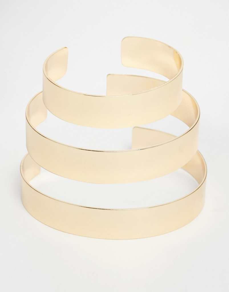 ASOS Pack of 3 Stacking Arm Cuffs
