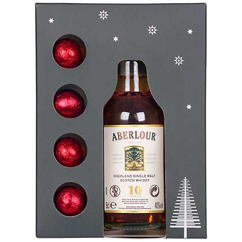 Aberlour Mini Whisky and Chocolates Gift Set