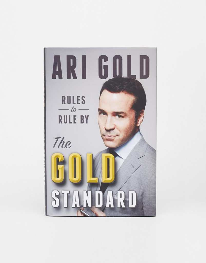 Ari Gold The Gold Standard Entourage Book