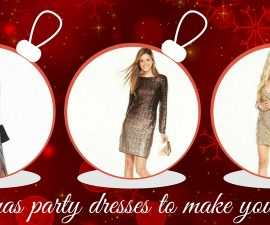 Christmas Party Dresses To Make You Sparkle From Very TheFuss.co.uk