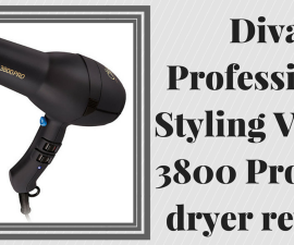 Diva Professional Styling Veloce 3800 Pro hair dryer review TheFuss.co.uk