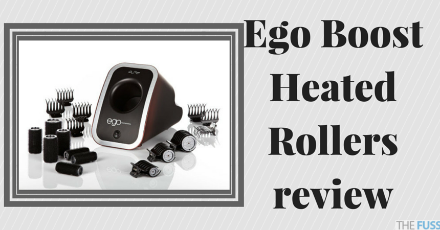 Ego Boost Heated Rollers review TheFuss.co.uk