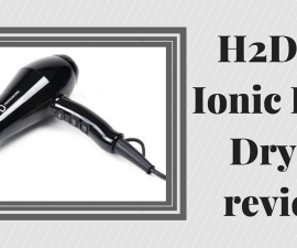H2D iR Ionic Hair Dryer review TheFuss.co.uk