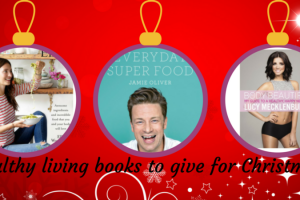 Healthy living books to give for Christmas