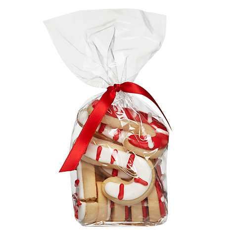 Image on Food Candy Cane Vanilla Gingerbread Biscuits