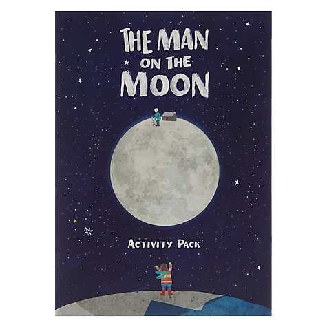 John Lewis Man on the Moon Activity Pack