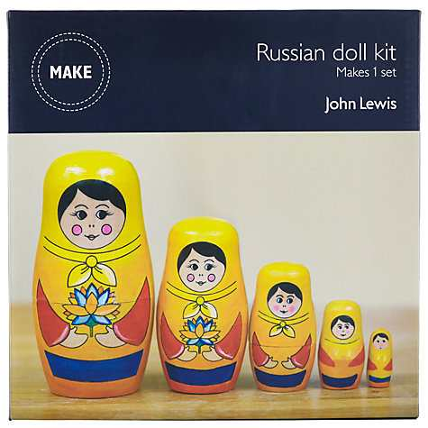 John Lewis Russian Doll Craft Kit