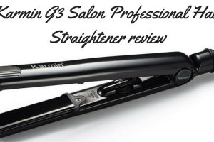 Karmin G3 Salon Professional Hair Straightener Review