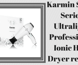 Karmin Salon Series Ultralight Professional Ionic Hair Dryer review TheFuss.co.uk