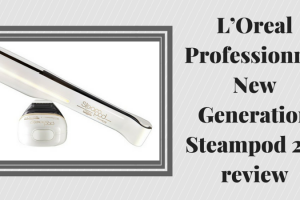 L'Oreal Professionnel New Generation Steampod 2.0 review TheFuss.co.uk