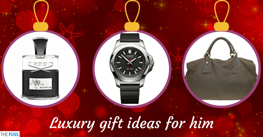Luxury gift ideas for him the fuss for Luxurious gifts for him