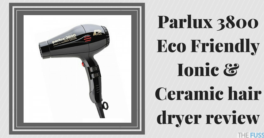 Parlux 3800 Eco Friendly Ionic & Ceramic hair dryer review TheFuss.co.uk