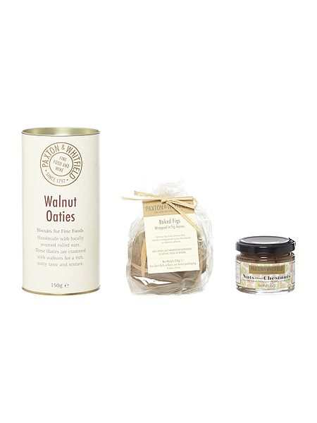 Paxton & Whitfield Oaties, Fig Chutney And Chestnut Confit Set