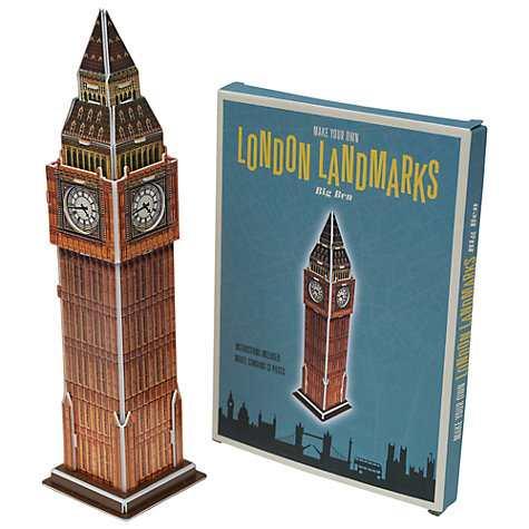 Rex London Landmarks Make Your Own Big Ben