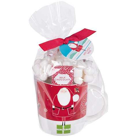 Santa & Friends Hot Chocolate Mug Set