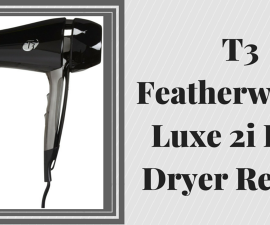 T3 Featherweight Luxe 2i Hair Dryer Review TheFuss.co.uk