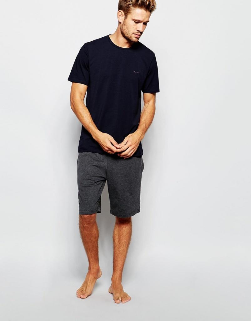 Ted Baker T-Shirt & Lounge Shorts Set