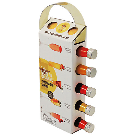 The Modern Cocktail Champagne Mixers, Pack of 5