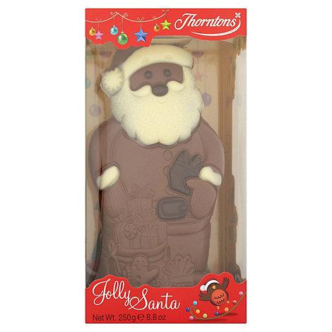 Thorntons Large jolly Santa model