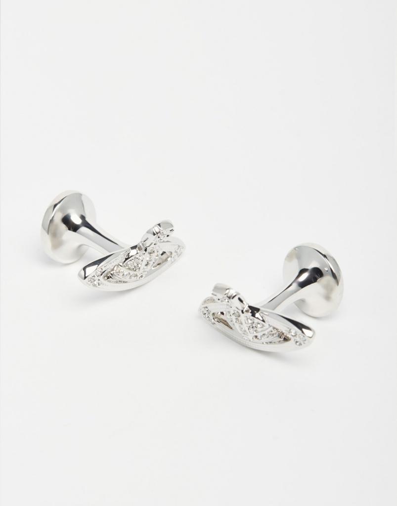 Vivienne Westwood Diamante Cufflinks