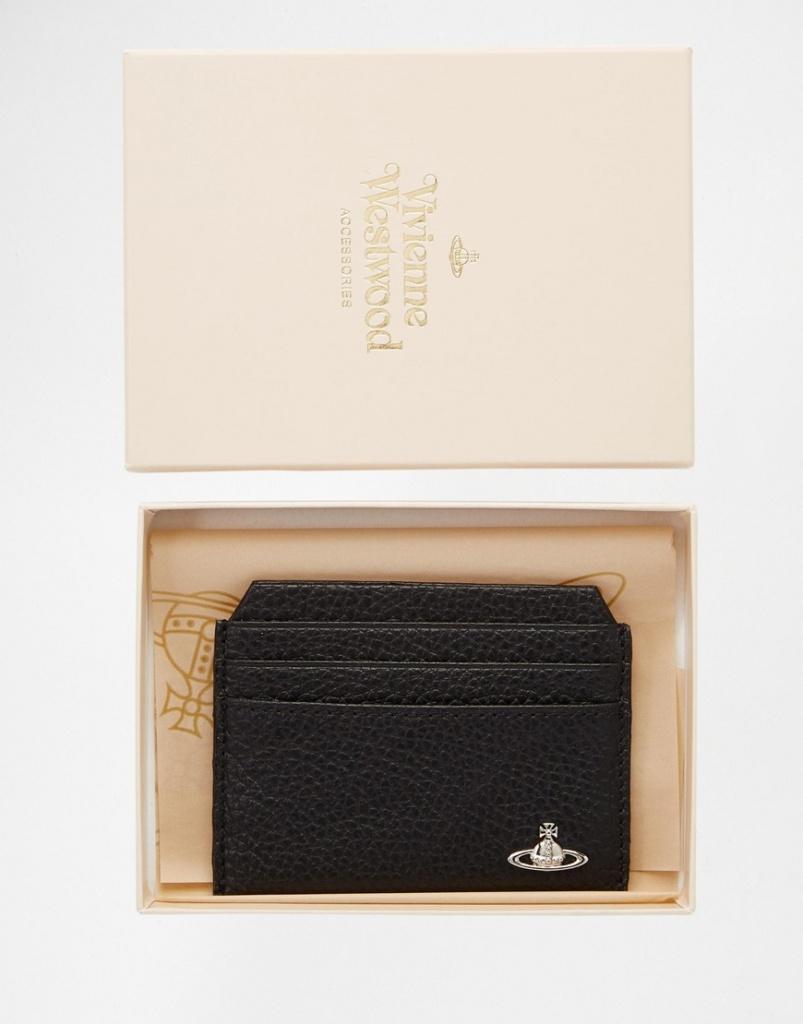 Vivienne Westwood Leather Card Holder