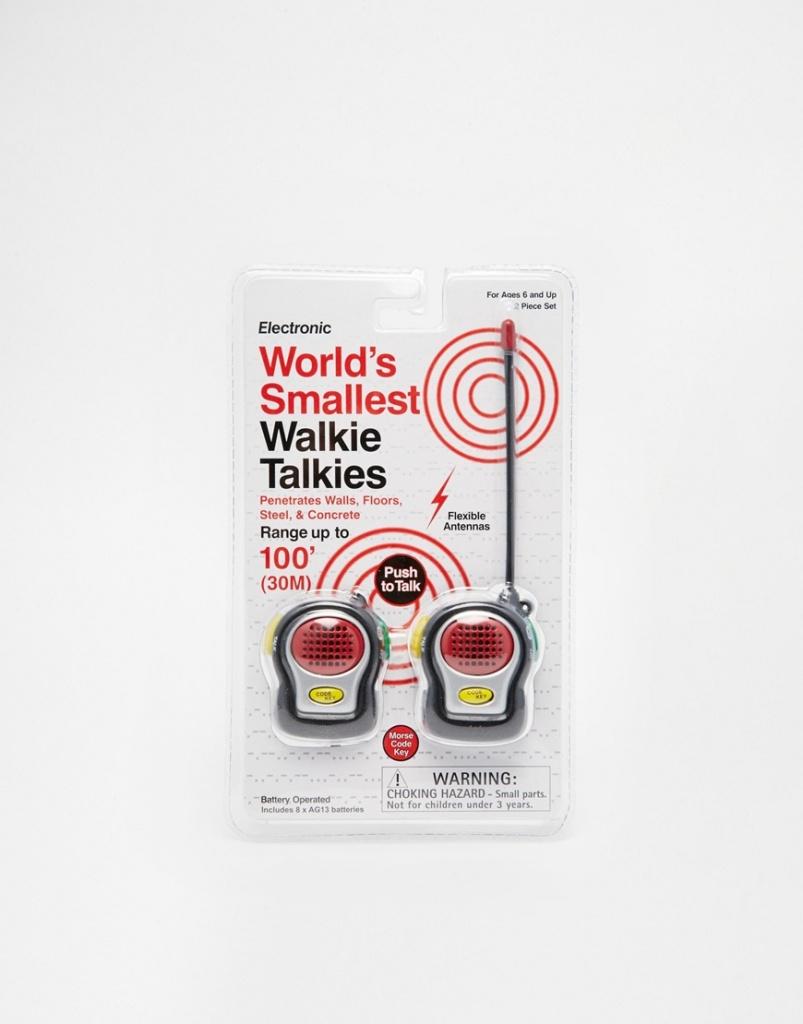 Worlds Smallest Walkie Talkie