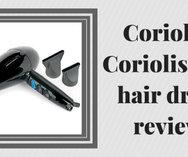 Corioliss Coriolissimo hair dryer review TheFuss.co.uk