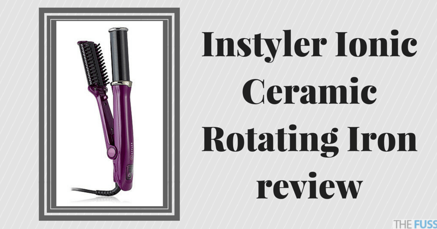Instyler Ionic Ceramic Rotating Iron review TheFuss.co.uk