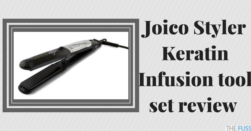 Joico Styler Keratin Infusion tool set review TheFuss.co.uk